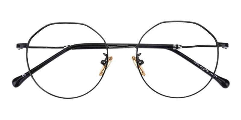 Black Kawk - Metal Eyeglasses , NosePads