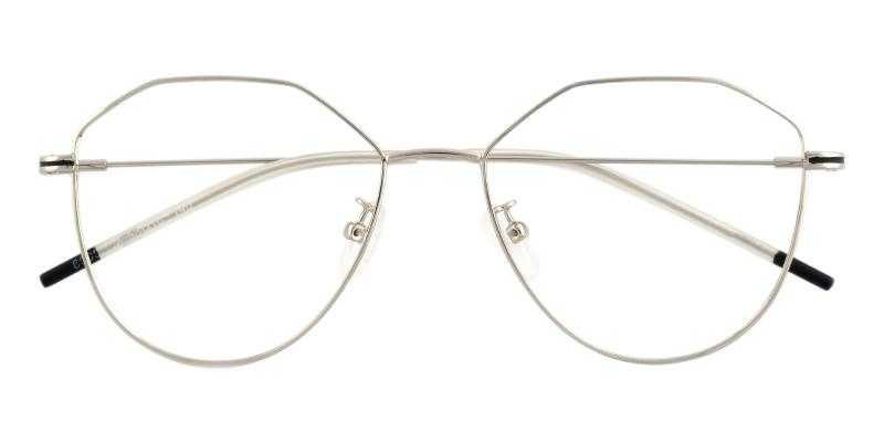 Silver Layla - Metal Lightweight , NosePads , Eyeglasses