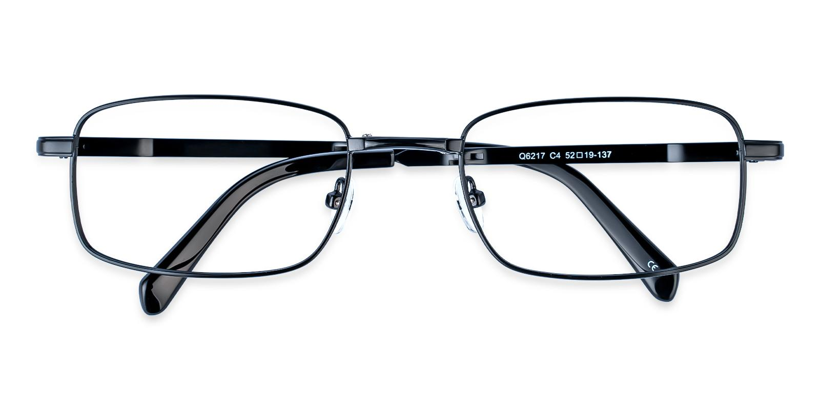 Sebastian Black Metal NosePads , Eyeglasses , Foldable Frames from ABBE Glasses