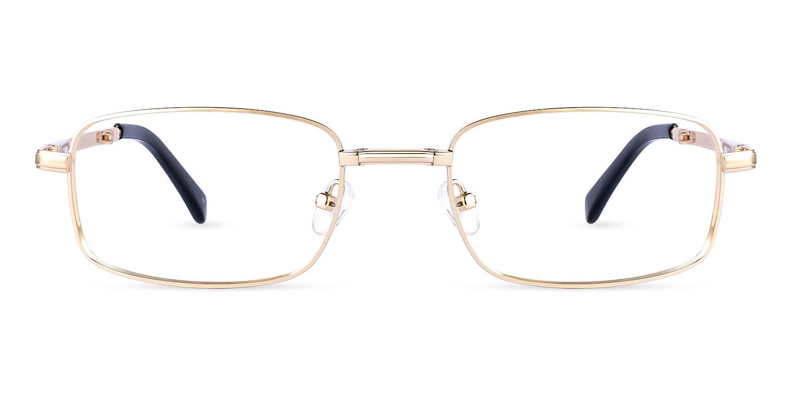 Sebastian Gold Metal Eyeglasses , Foldable , NosePads Frames from ABBE Glasses