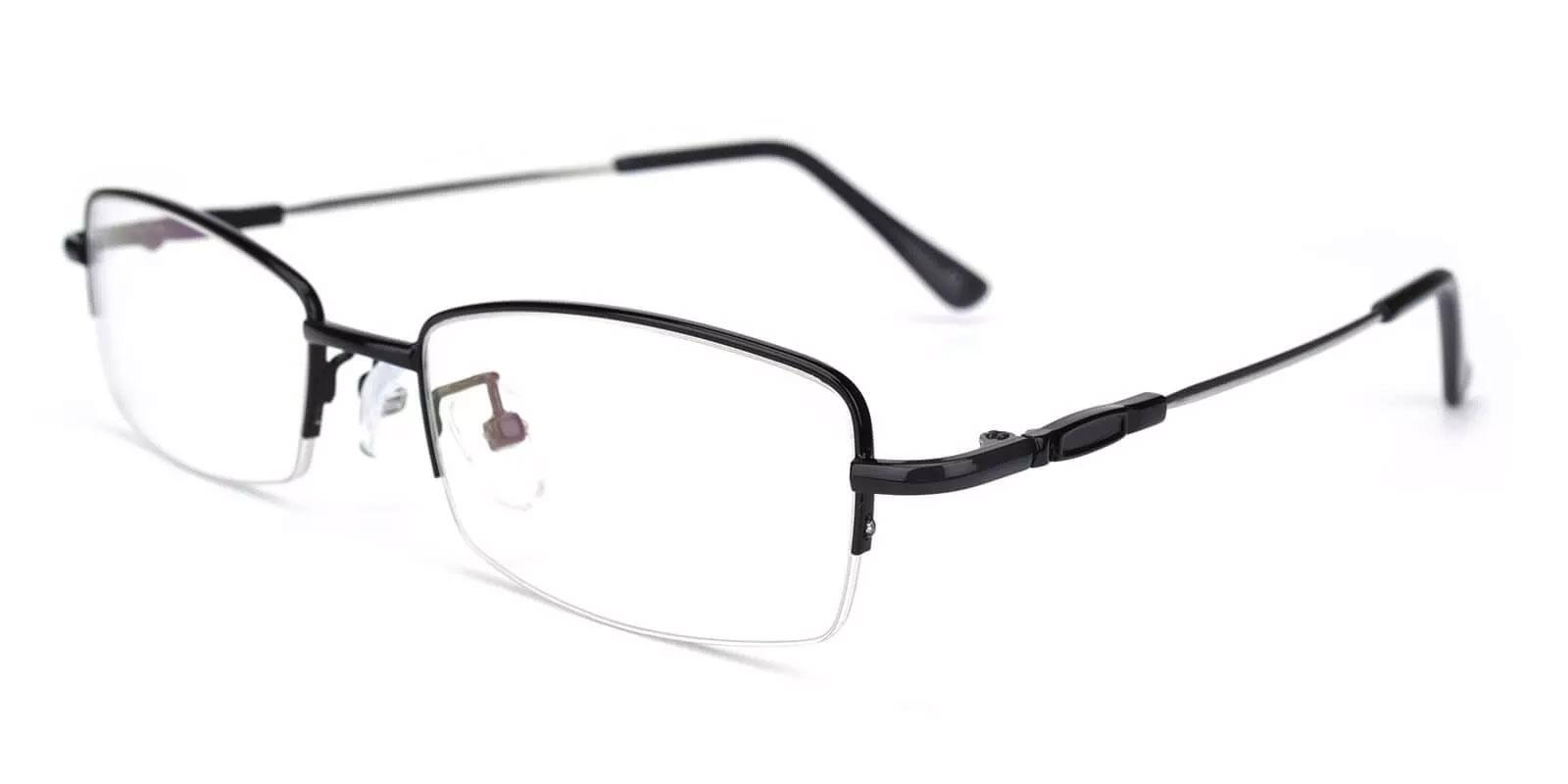 Benjamin Black Metal Eyeglasses , NosePads Frames from ABBE Glasses