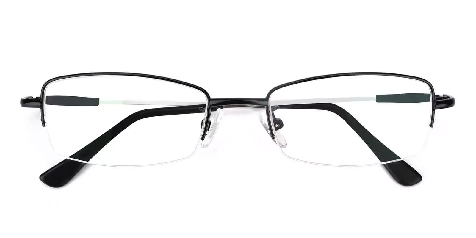 Benjamin Black Metal NosePads , Eyeglasses Frames from ABBE Glasses