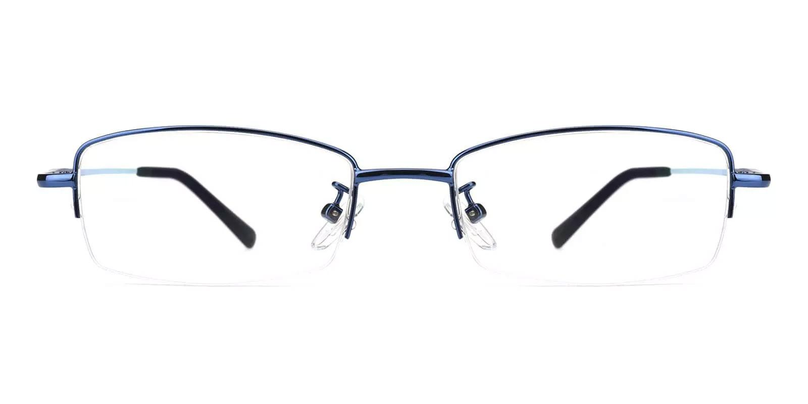 Benjamin Blue Metal NosePads , Eyeglasses Frames from ABBE Glasses
