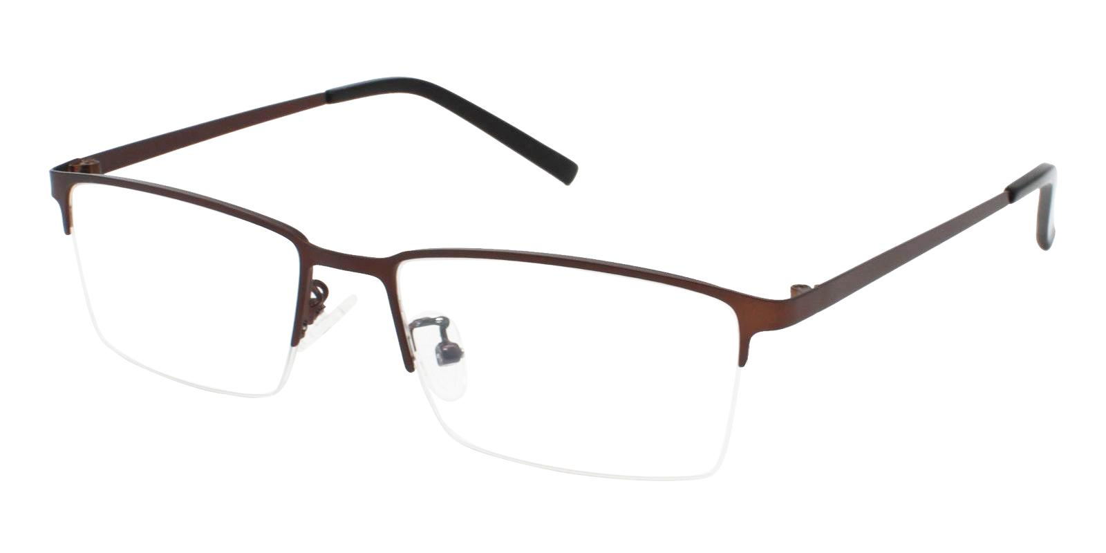 Alexander Brown Metal Eyeglasses , NosePads Frames from ABBE Glasses