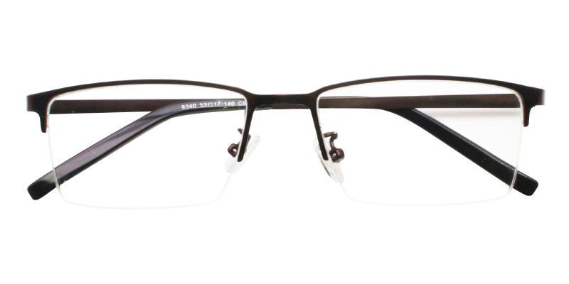 Alexander - Metal Eyeglasses , NosePads