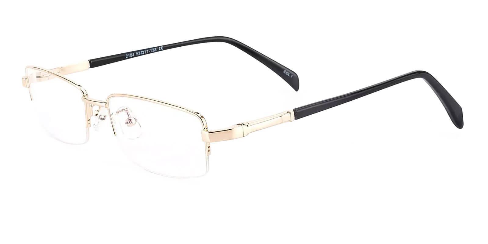 Michael Gold Metal Eyeglasses , NosePads , SpringHinges Frames from ABBE Glasses