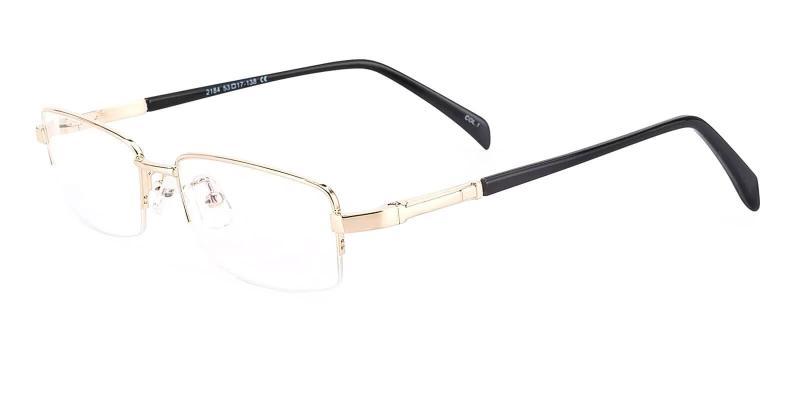 Gold Michael - Metal SpringHinges , Eyeglasses , NosePads