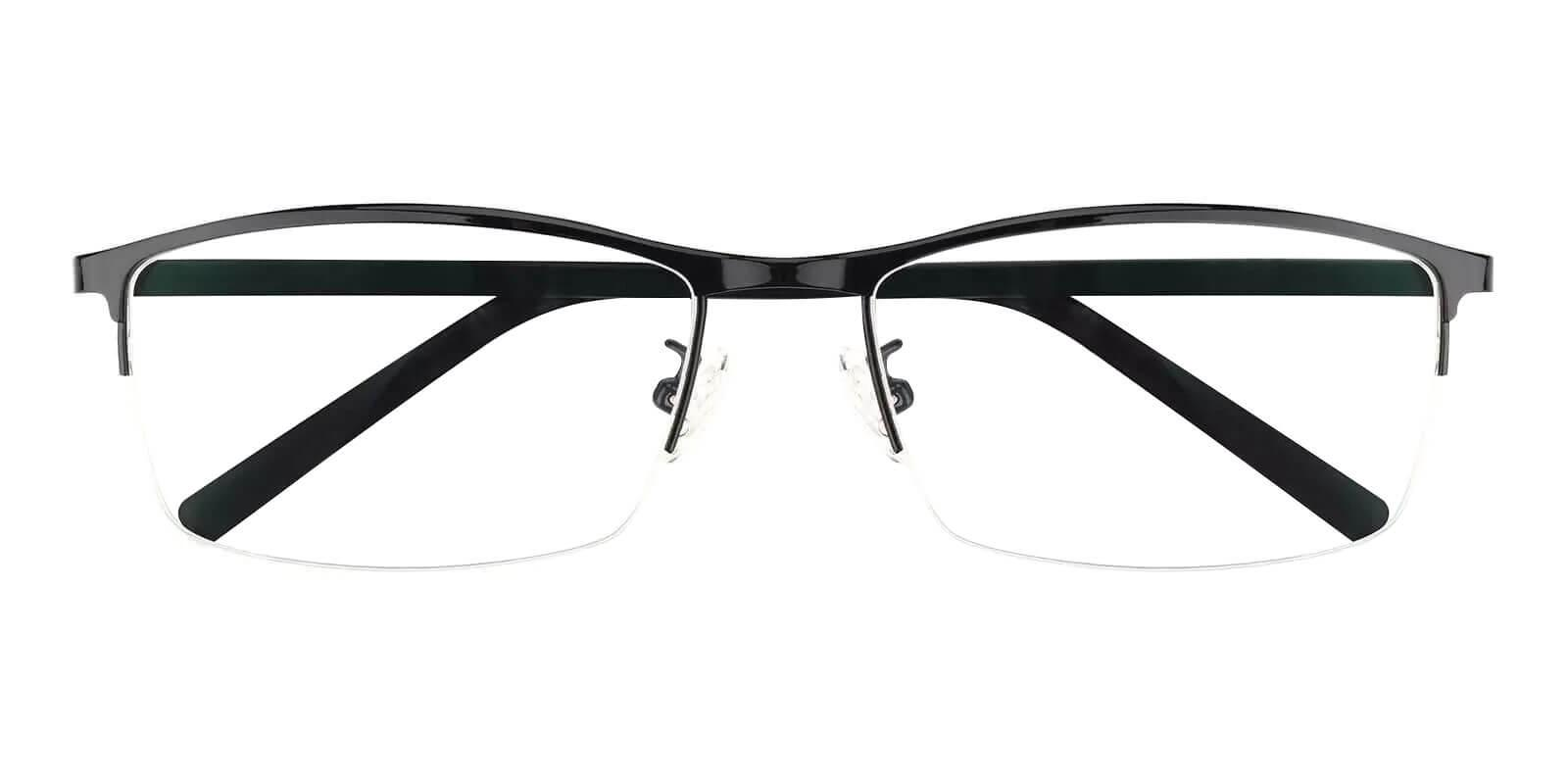 William Black Metal Eyeglasses , NosePads Frames from ABBE Glasses