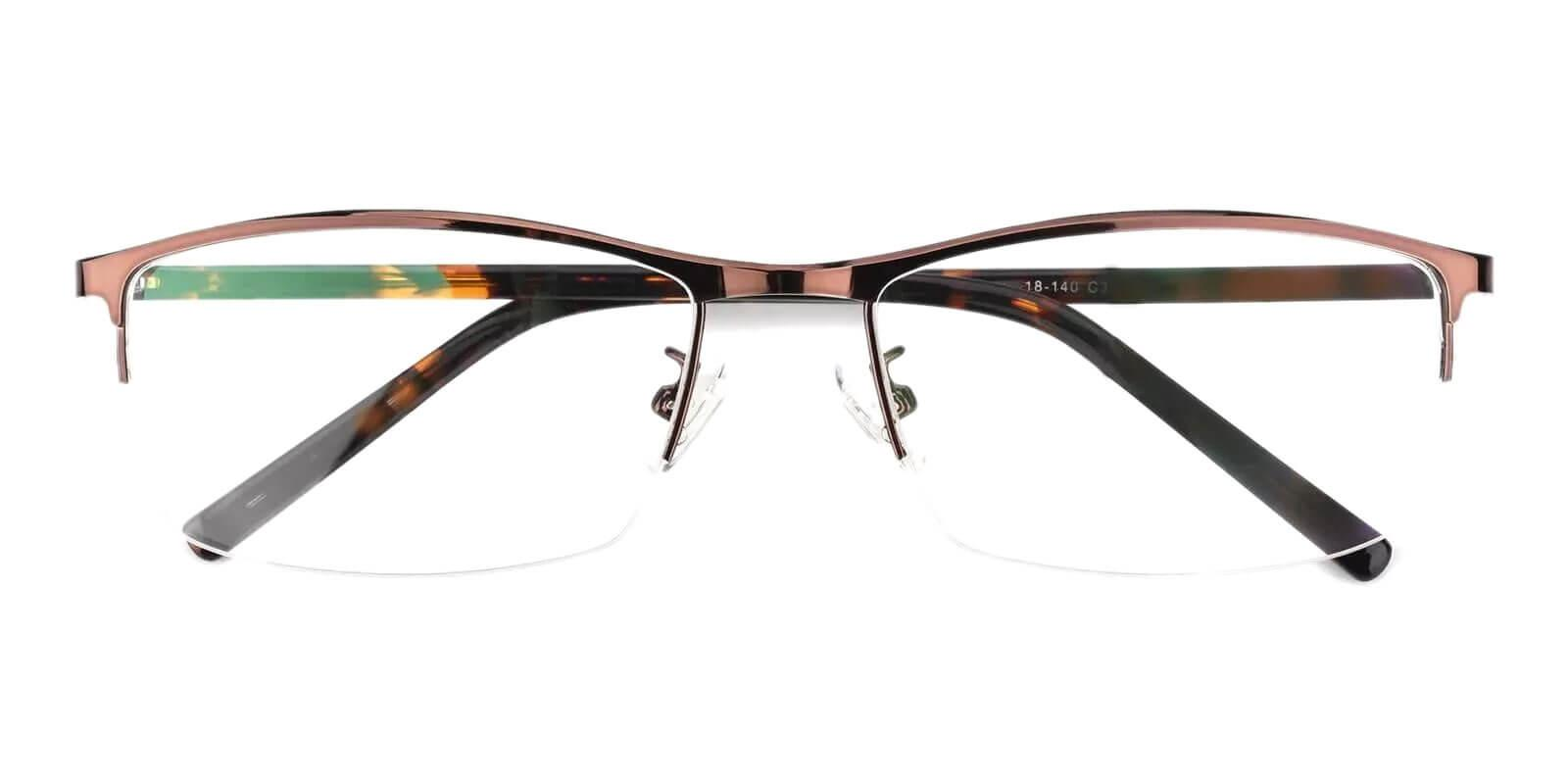 William Brown Metal Eyeglasses , NosePads Frames from ABBE Glasses