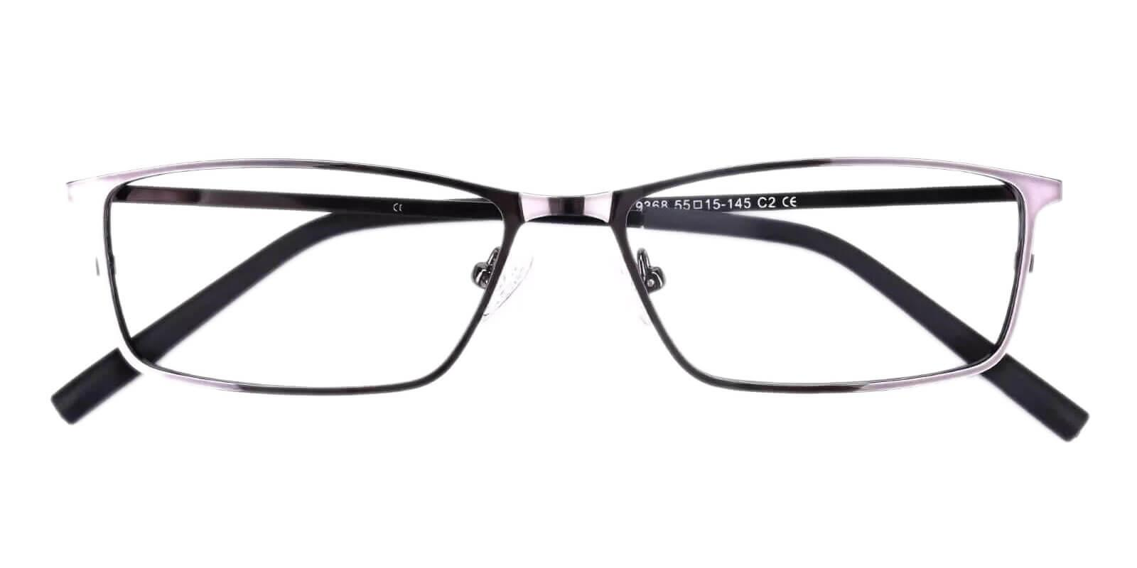 Wildersville Gun Metal Eyeglasses , NosePads Frames from ABBE Glasses
