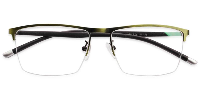Wyatt - Metal Eyeglasses , NosePads