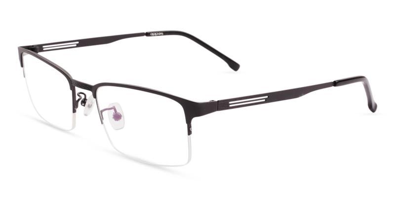Pattern Gabriel - Metal Eyeglasses , NosePads