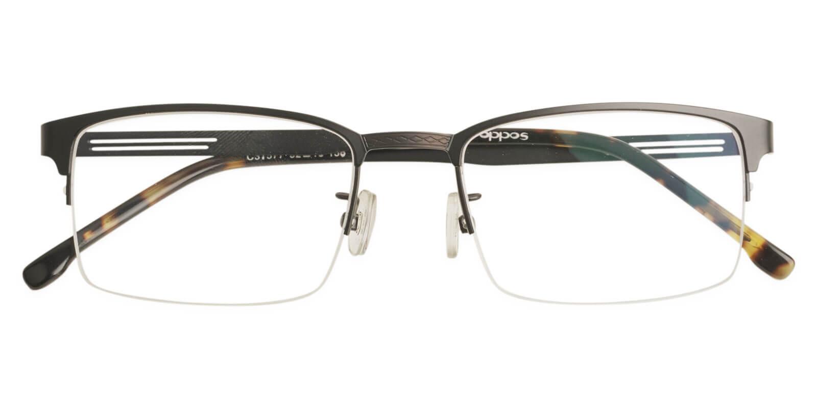 Gabriel Tortoise Metal Eyeglasses , NosePads Frames from ABBE Glasses