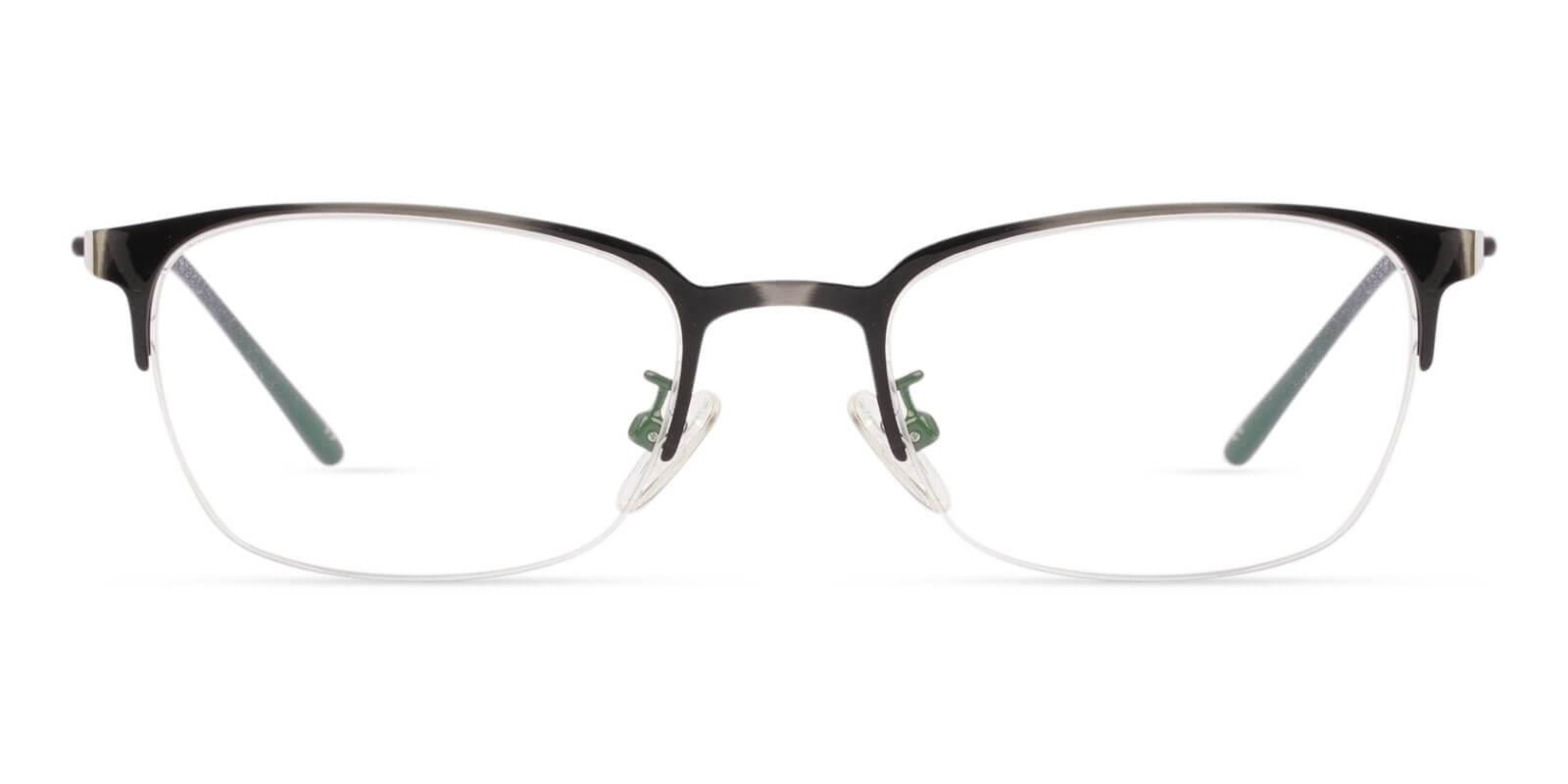 Lassiter Gun Metal NosePads , Eyeglasses Frames from ABBE Glasses