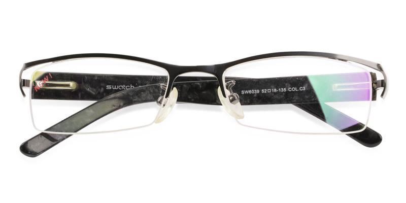 Flynn - Metal Eyeglasses , NosePads , SpringHinges