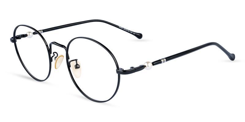 Chloe - Metal Eyeglasses , NosePads
