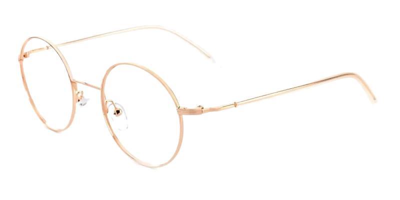 Gold Zoey - Metal NosePads , Eyeglasses , Lightweight