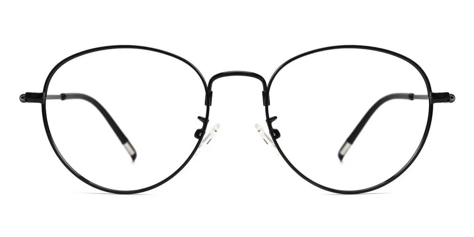 Madison Black Metal NosePads , Eyeglasses , Lightweight Frames from ABBE Glasses