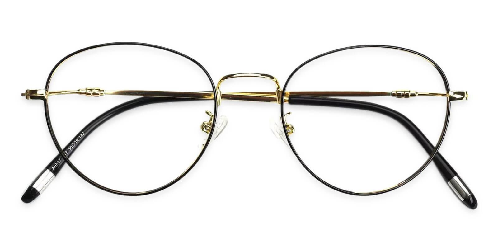 Madison Multicolor Metal Eyeglasses , Lightweight , NosePads Frames from ABBE Glasses