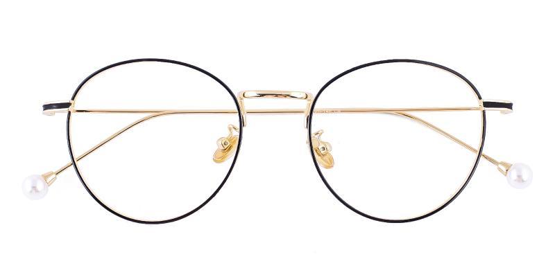 Pearl - Metal Eyeglasses , NosePads
