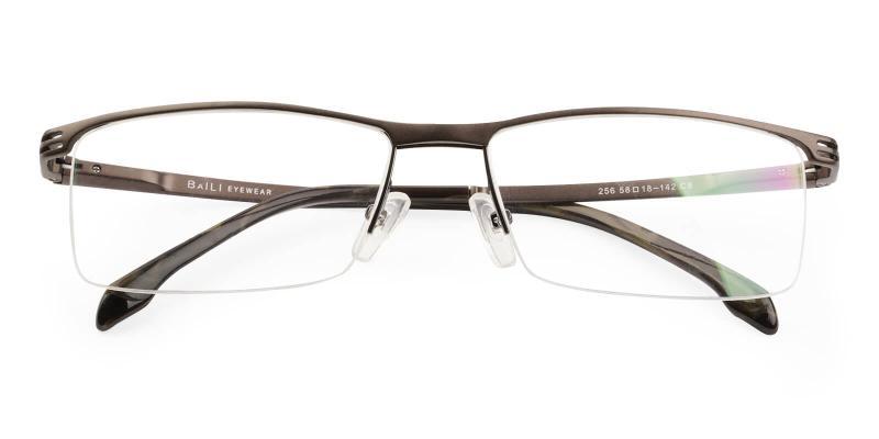 Brown Matthew - Metal Eyeglasses , NosePads