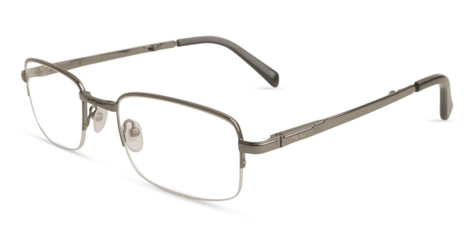 Carson Gun Metal NosePads , Eyeglasses , Foldable Frames from ABBE Glasses