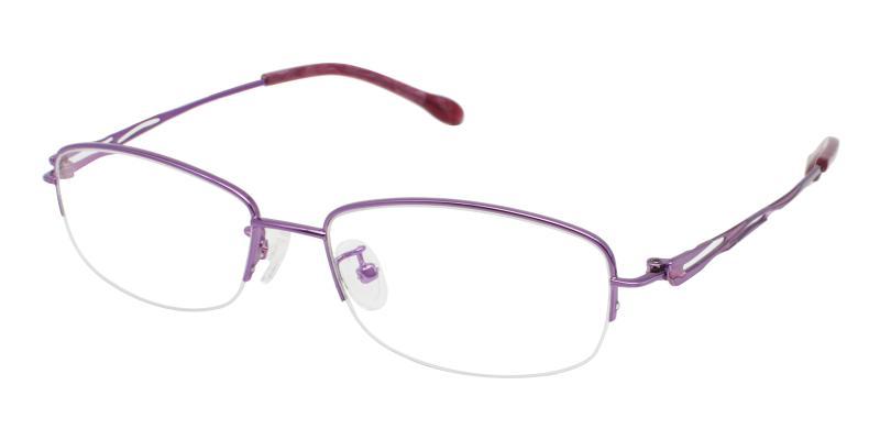 Elizabeth - Metal Eyeglasses , NosePads