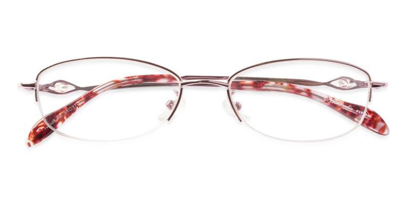 Grace - Metal Eyeglasses , NosePads
