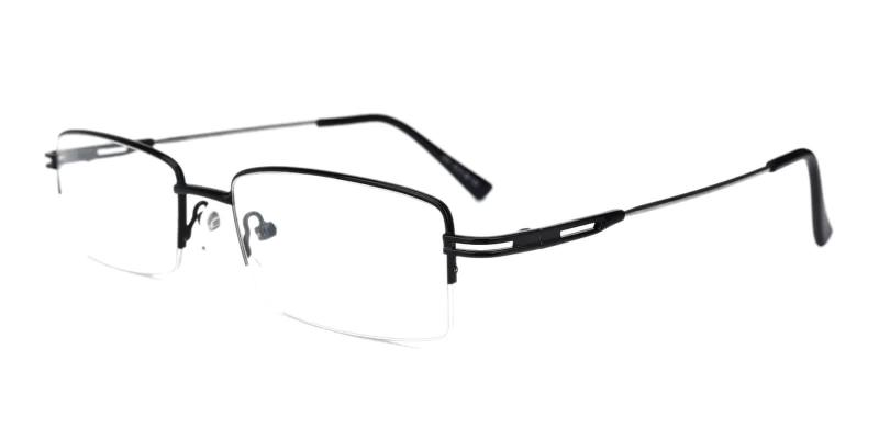 Black Connor - Metal NosePads , Eyeglasses