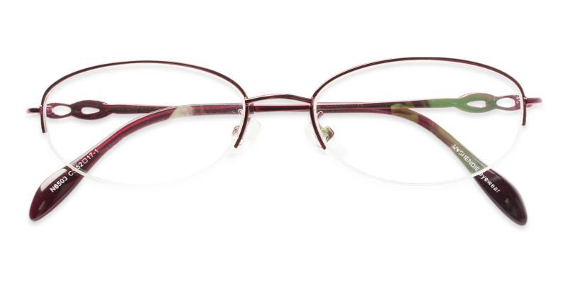 Bella - Metal Eyeglasses , NosePads