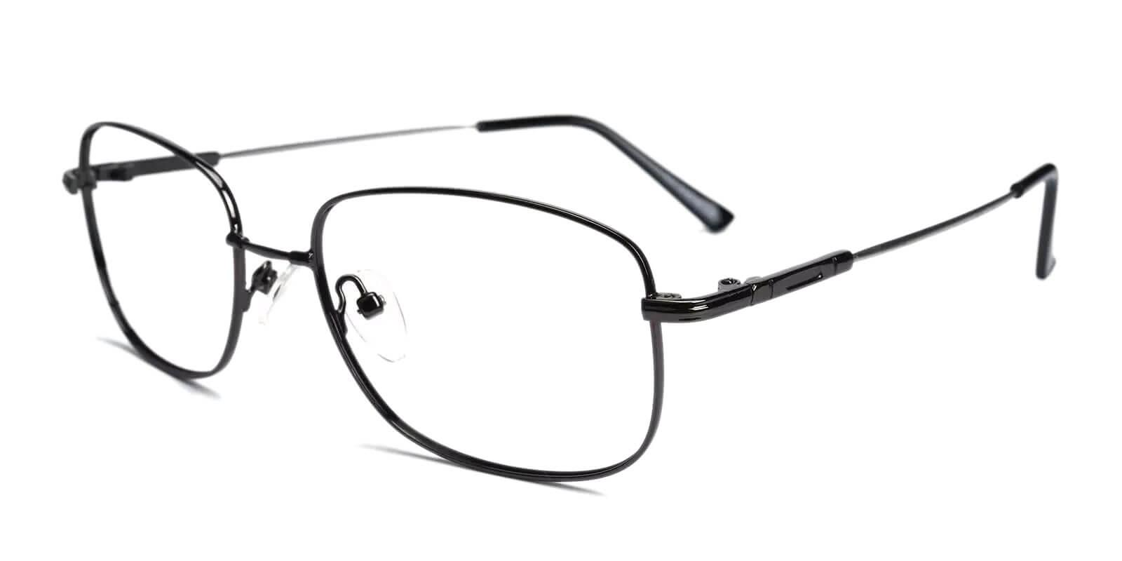 Dylan Gun Metal Eyeglasses , NosePads Frames from ABBE Glasses