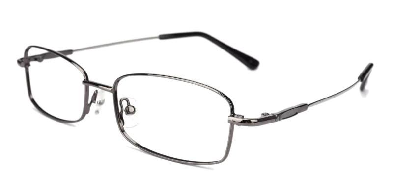 Gun Healdton - Metal Eyeglasses , NosePads