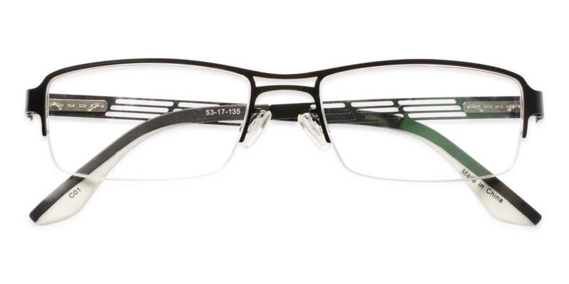 Caleb - Metal Eyeglasses , NosePads