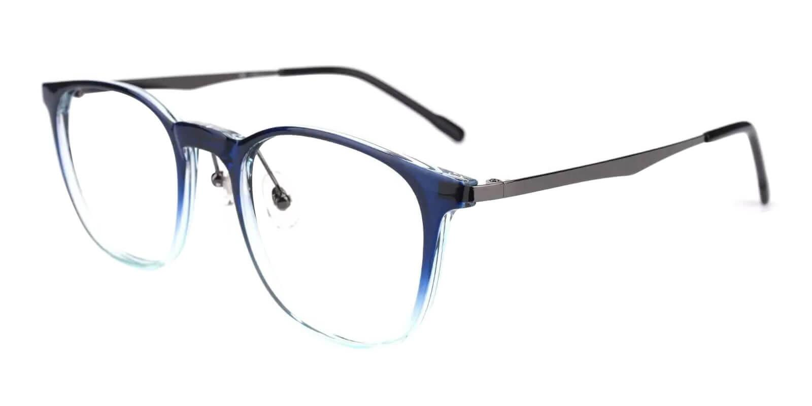Hebbville Blue TR Eyeglasses , Lightweight , NosePads Frames from ABBE Glasses