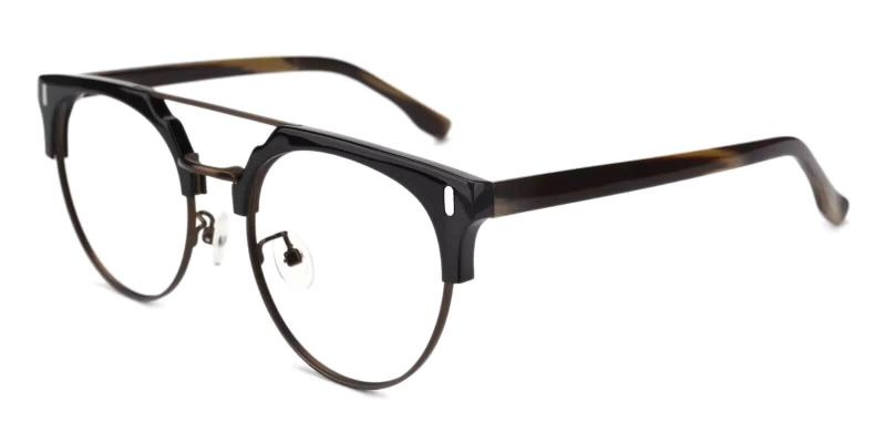 Brown Woonsocket - Combination ,Eyeglasses