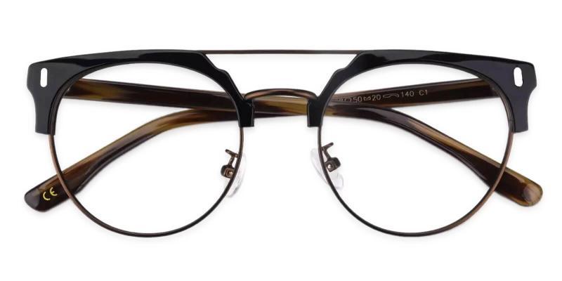 Brown Woonsocket - Combination NosePads , Eyeglasses