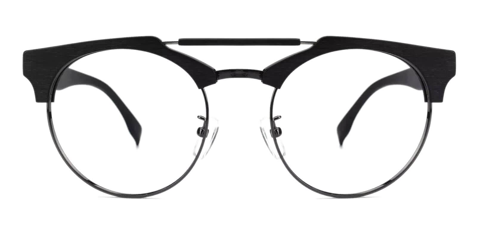 Orbisonia Black Combination NosePads , Eyeglasses Frames from ABBE Glasses