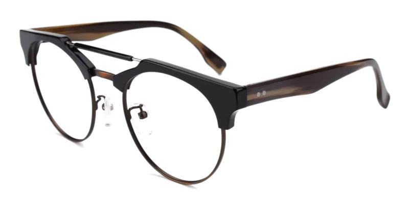 Brown Orbisonia - Combination NosePads , Eyeglasses