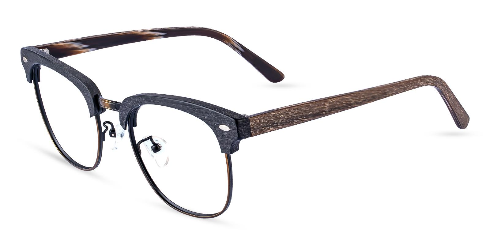 McNair Gun Combination Eyeglasses , NosePads Frames from ABBE Glasses
