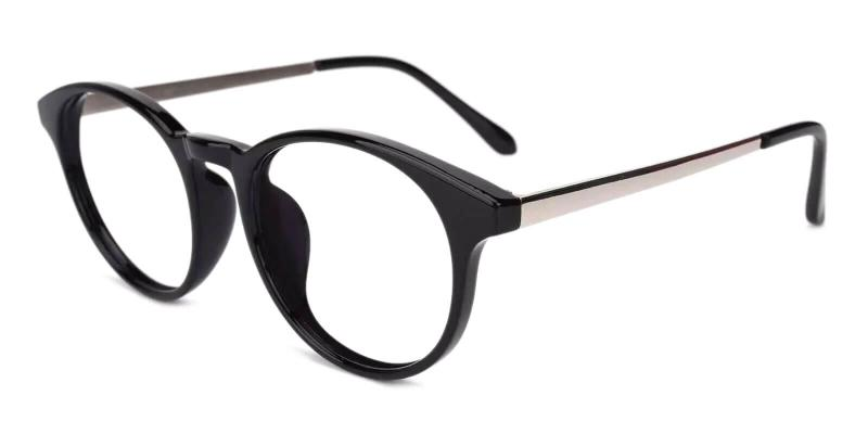 Black Wilcox - TR Eyeglasses , UniversalBridgeFit