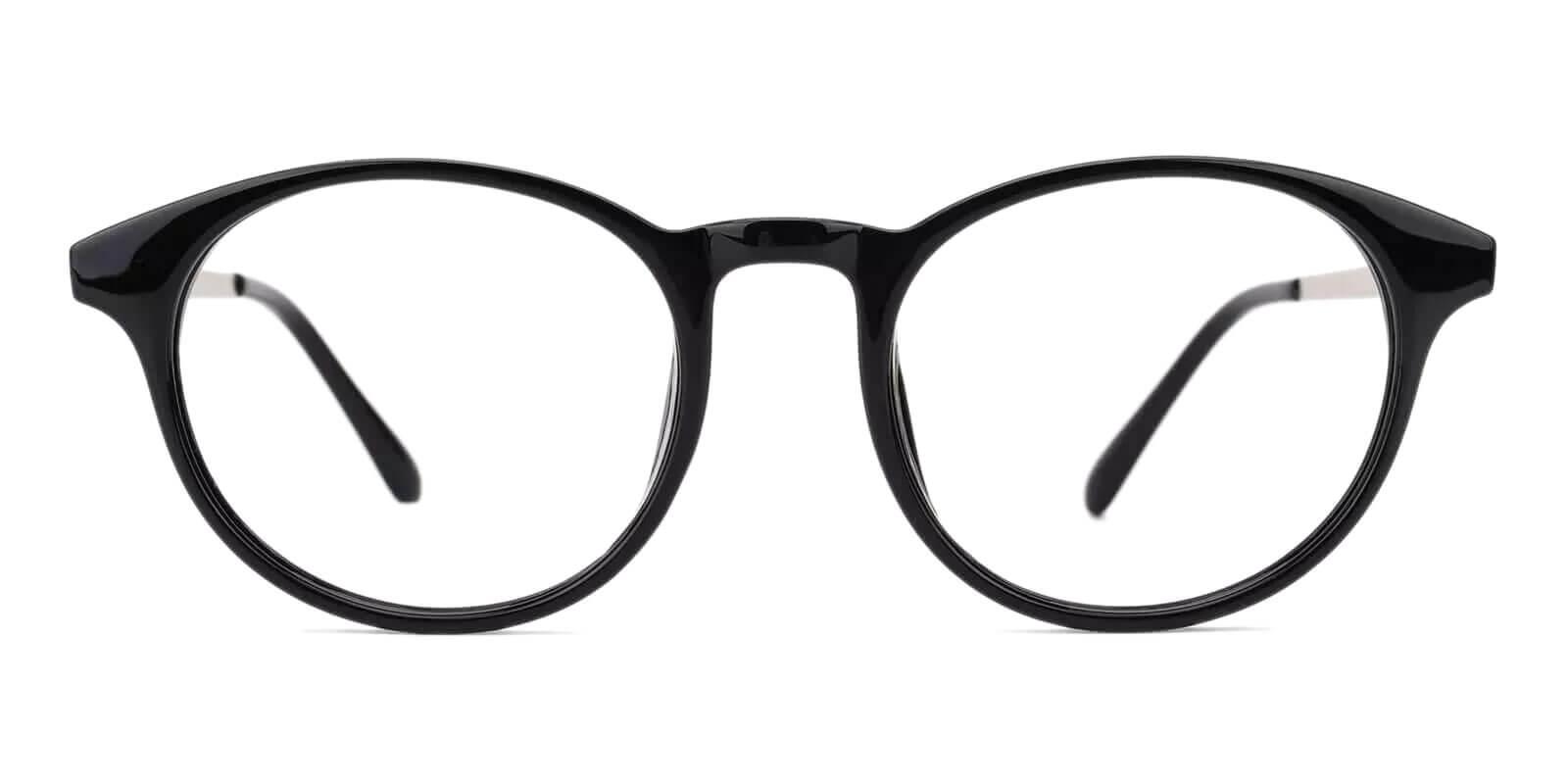 Wilcox Black TR Eyeglasses , UniversalBridgeFit Frames from ABBE Glasses