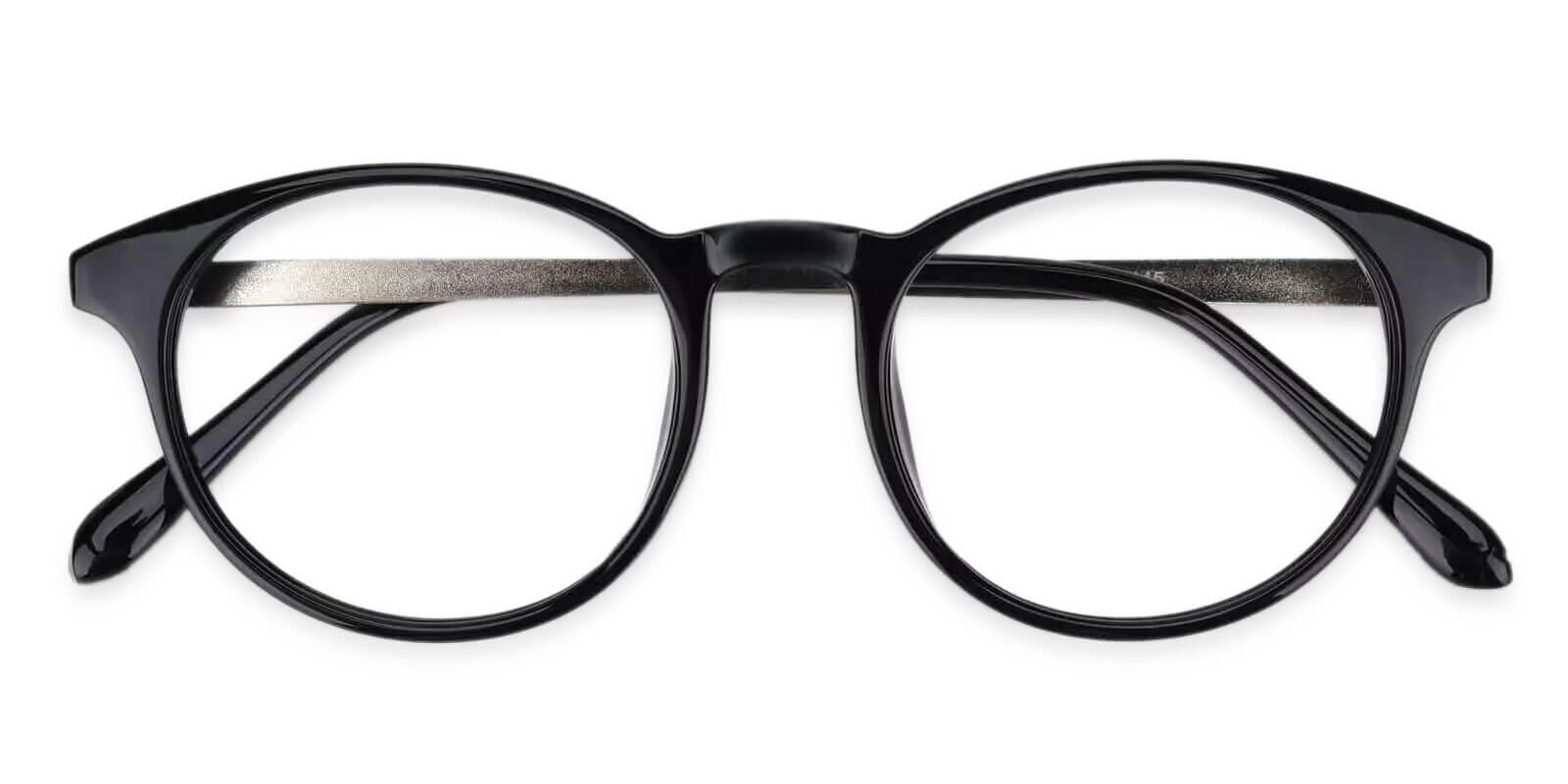 Wilcox Black TR Eyeglasses , UniversalBridgeFit Frames from ABBE Glasses