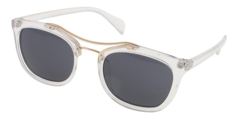 Translucent Minden - Plastic Sunglasses , UniversalBridgeFit