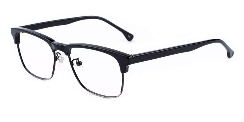 Black Joseph - Combination Eyeglasses , NosePads