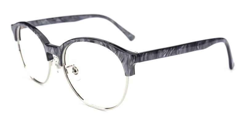 Gray Pelsor - Combination Eyeglasses , NosePads