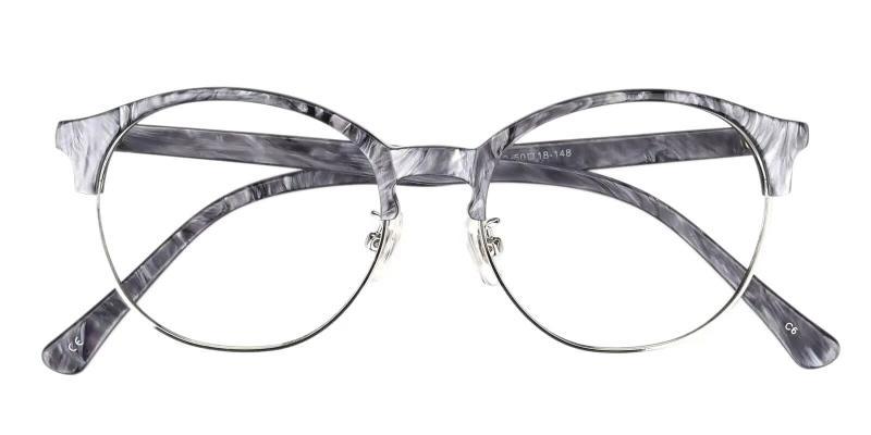 Gray Pelsor - Combination Eyeglasses , NosePads