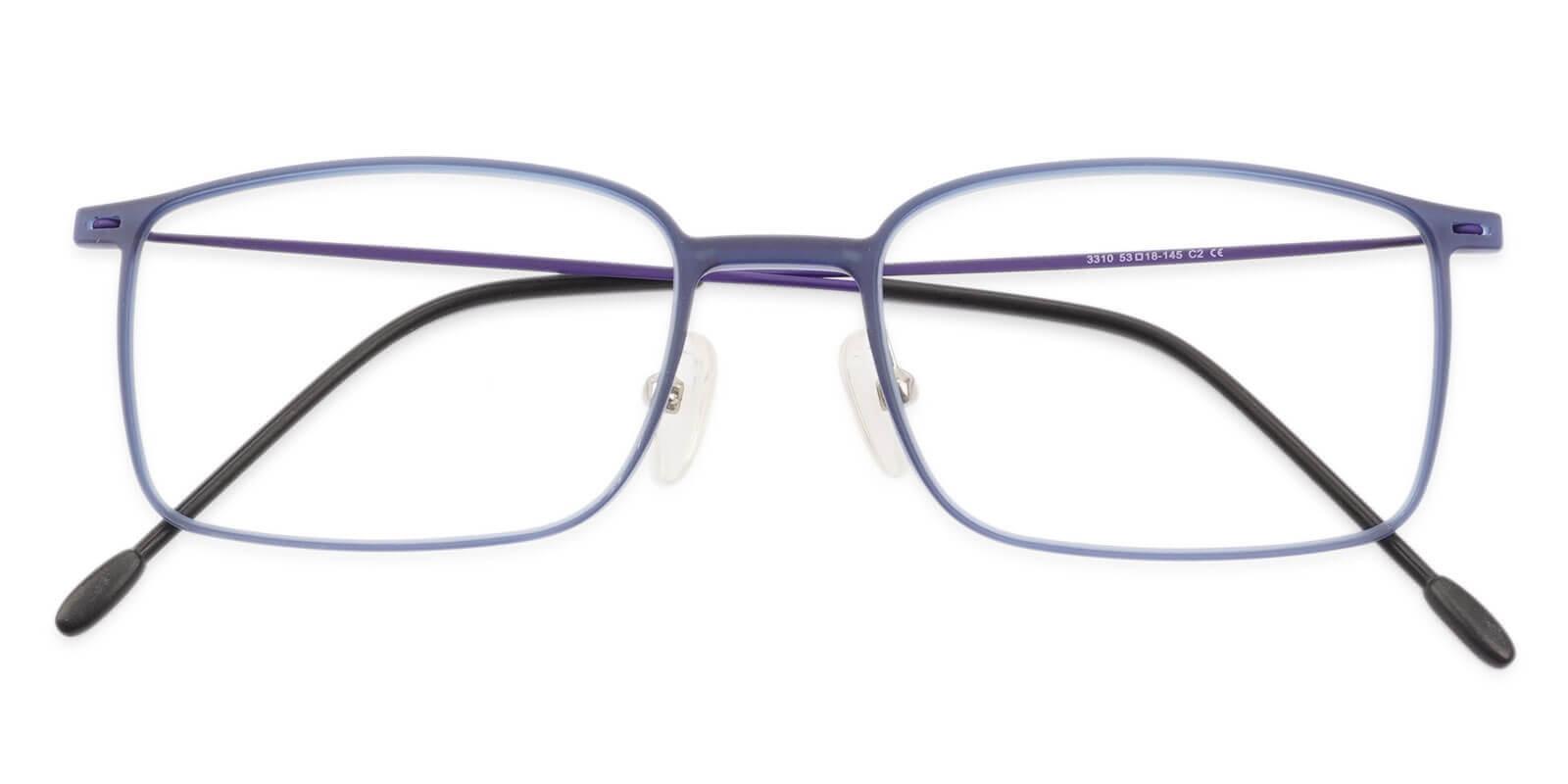 Philadelphia Blue Combination Lightweight , NosePads , Eyeglasses Frames from ABBE Glasses