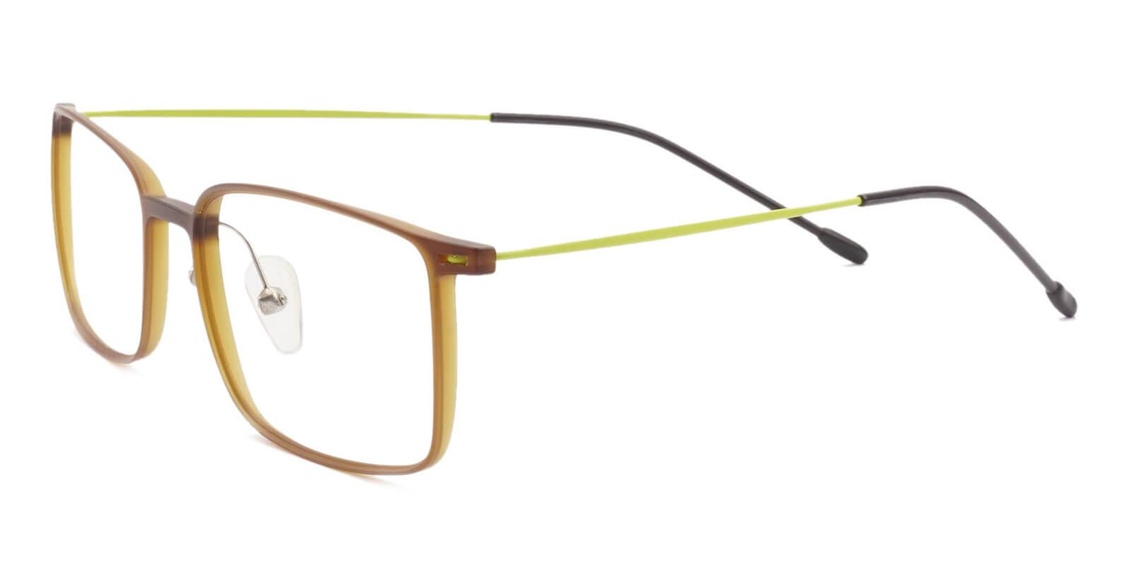 Philadelphia Brown Combination Lightweight , NosePads , Eyeglasses Frames from ABBE Glasses