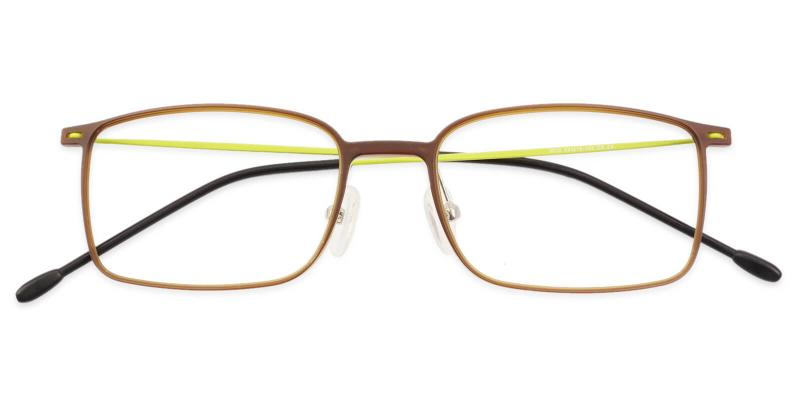 Brown Philadelphia - Combination Lightweight , NosePads , Eyeglasses