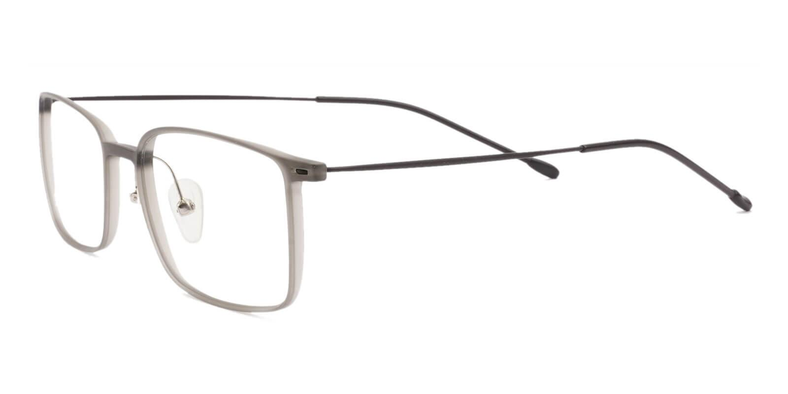 Philadelphia Gray Combination Lightweight , Eyeglasses , NosePads Frames from ABBE Glasses